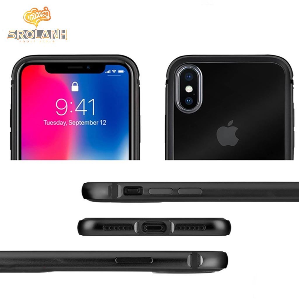 G-Case The Grand Series-BLK For Iphone X
