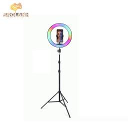 [LED0060BL] Colorful RGB beauty light 13inches(33cm) Stand Tripod 1.7m JM33