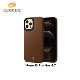 Spigen Cyrill Leather Brick For 12 Pro Max 6.7