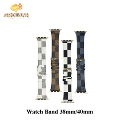 Smart watchband square leather for 38/40mm